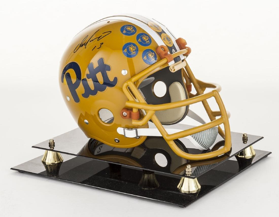 Dan Marino Signed Official Pitt Helmet with COA