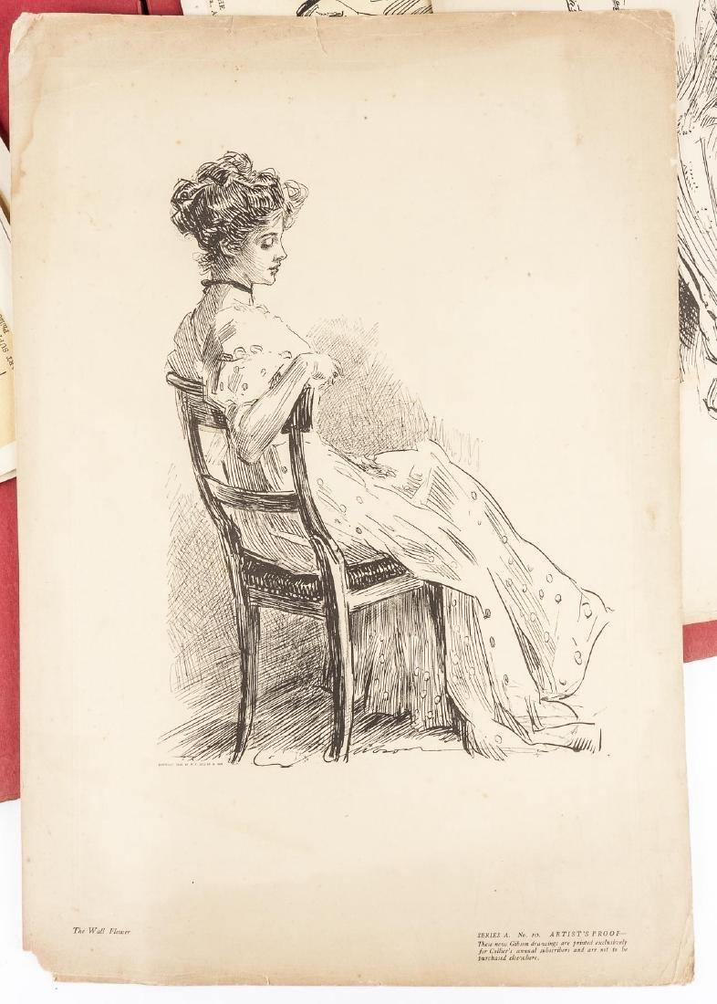 1909 12 New Gibson Girls Hitherto Unpublished