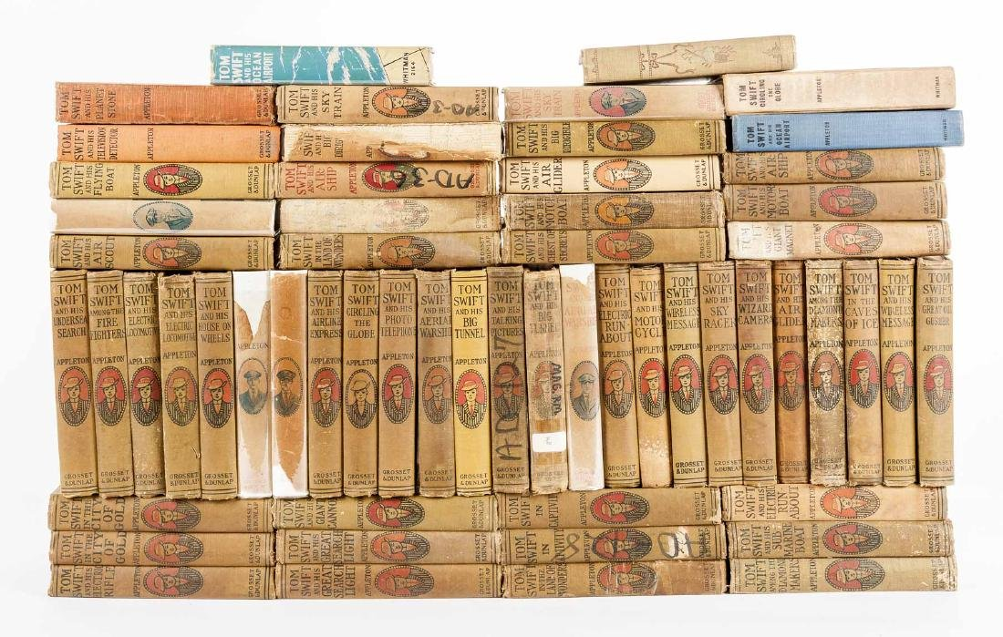 59 Children's Books Incl Tom Swift Series