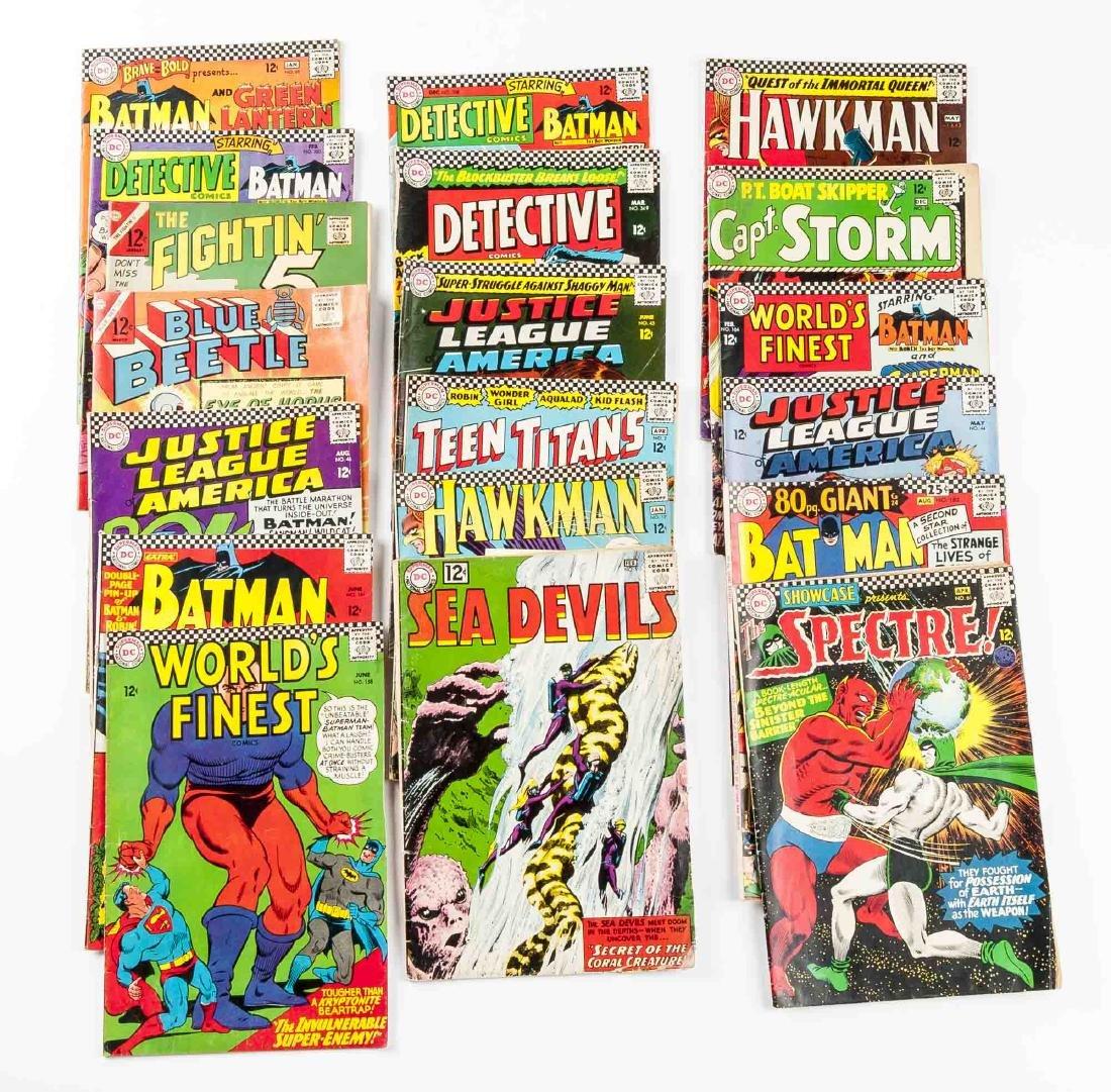 19 DC Comic Books incl Batman & Blue Beetle - 3