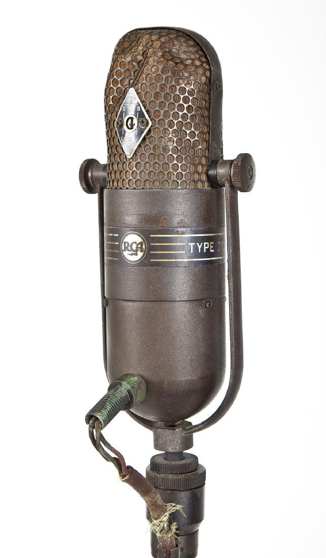 RCA 77 DX Floor Microphone on Stand