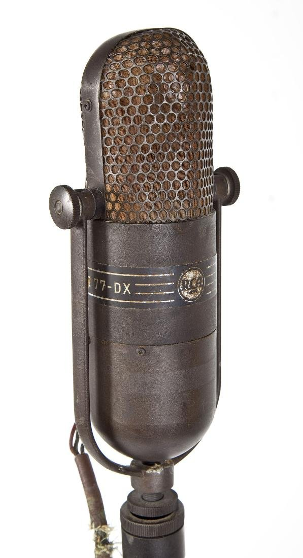 RCA 77 DX Floor Microphone on Stand - 4