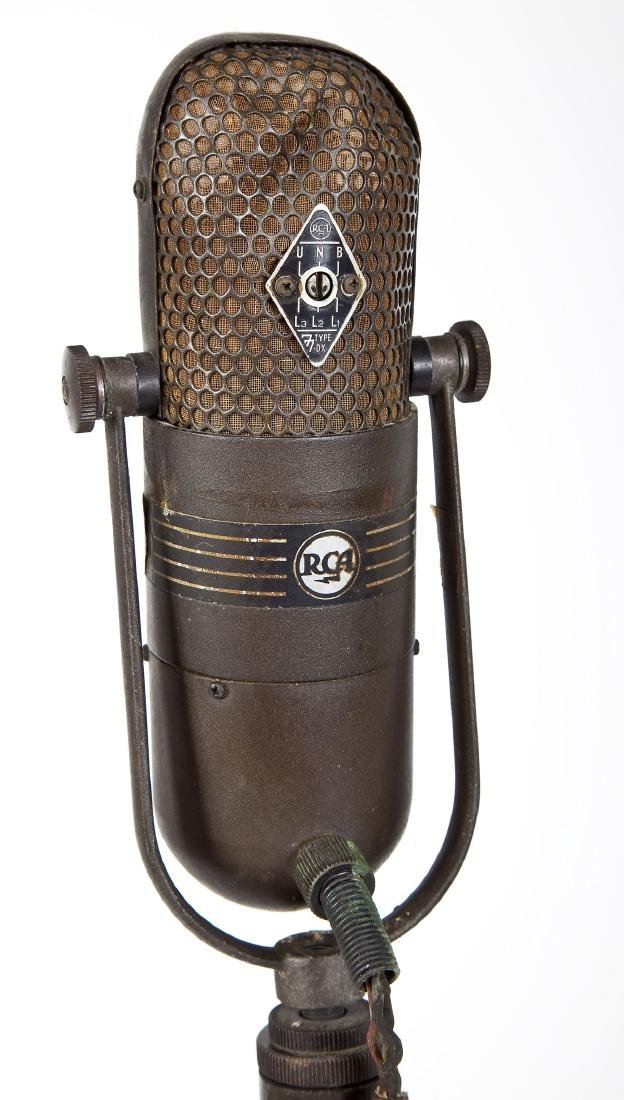 RCA 77 DX Floor Microphone on Stand - 7