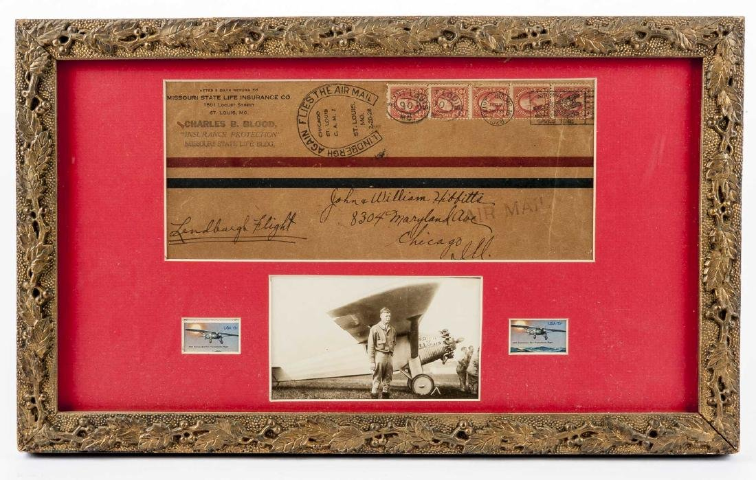 Charles Lindbergh Air Mail Envelope