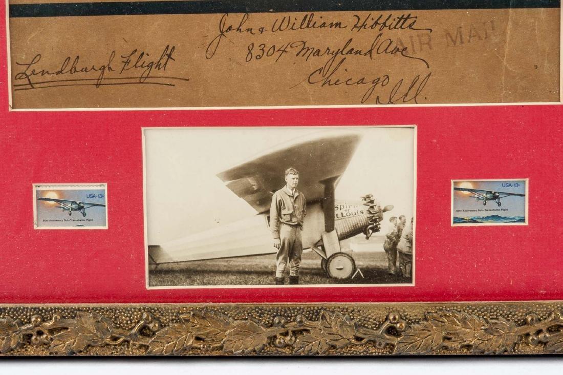 Charles Lindbergh Air Mail Envelope - 3