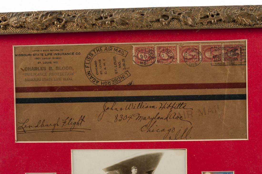 Charles Lindbergh Air Mail Envelope - 4