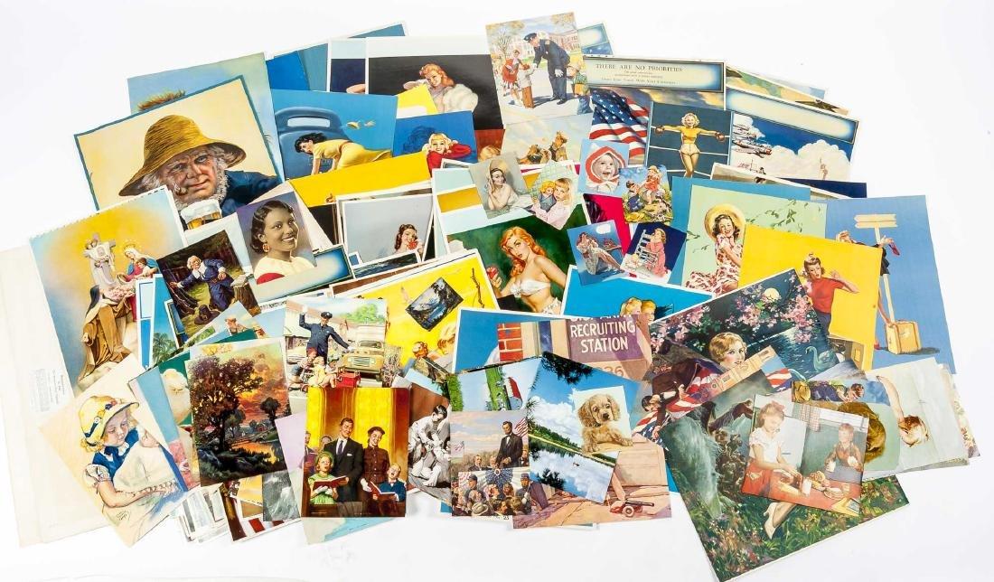 100+ Vintage Calendar pages Incl Samples