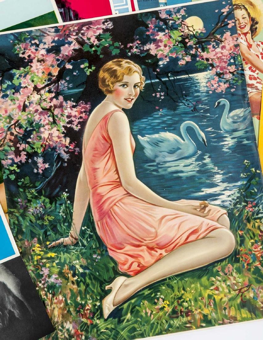 100+ Vintage Calendar pages Incl Samples - 3