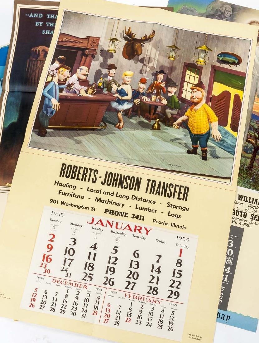 100+ Vintage Calendar pages Incl Samples - 8