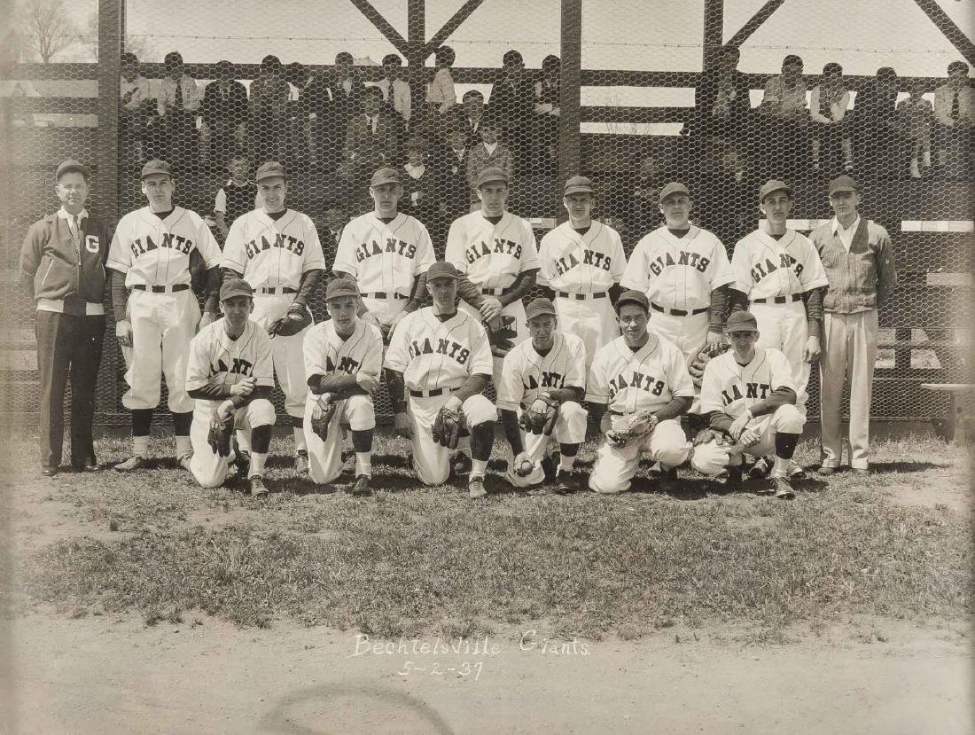 Circa 1930s Images incl CCC Baseball Team - 6