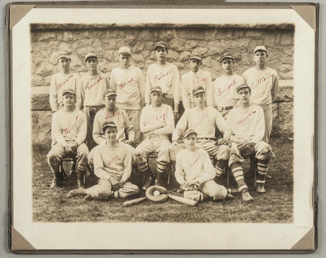 Circa 1930s Images incl CCC Baseball Team - 8