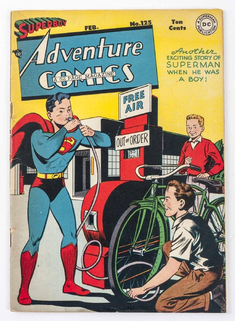 Adventure Comics No. 125 Superboy 1948