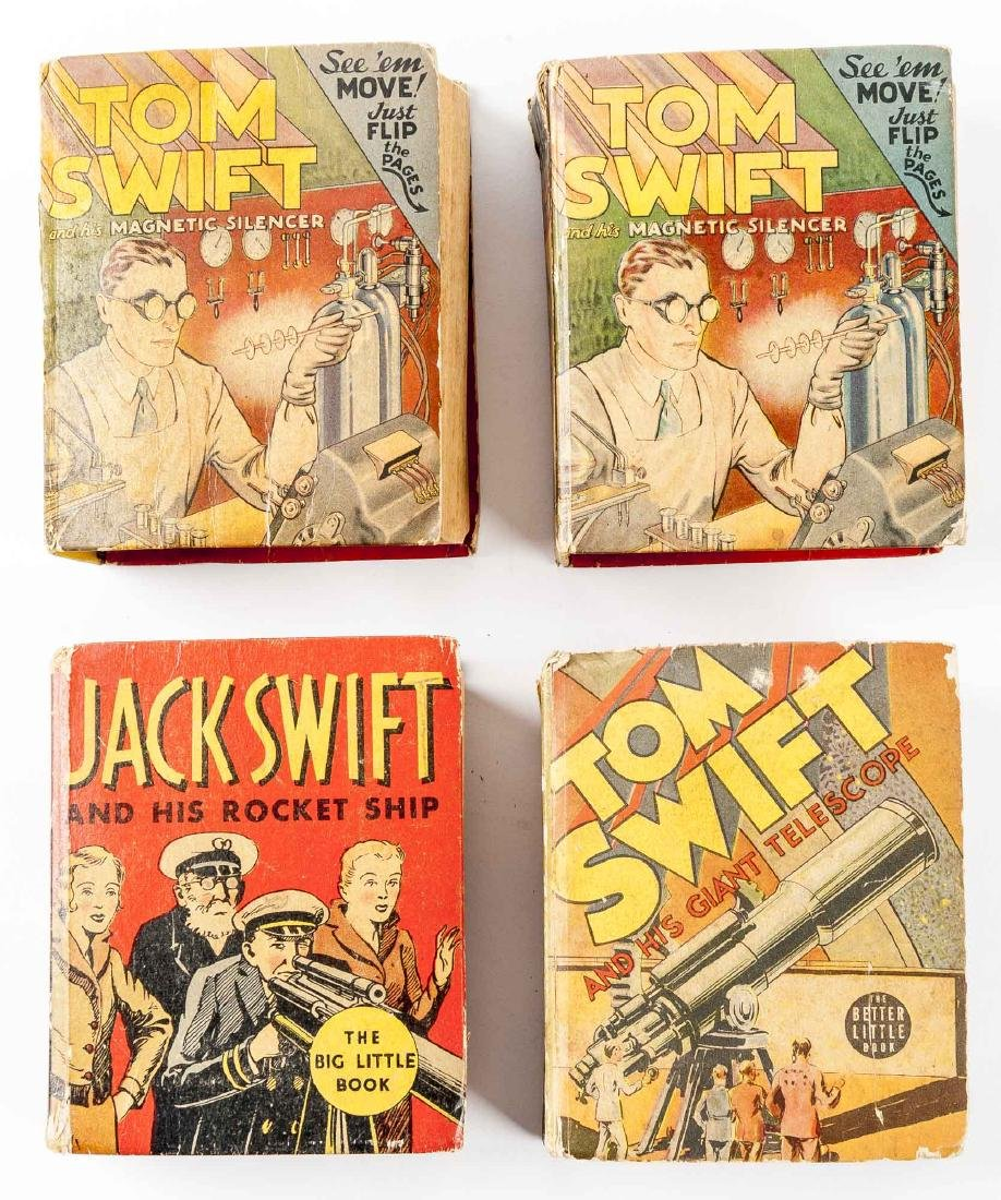 1 Jack Swift & 3 Tom Swift Big Little Books