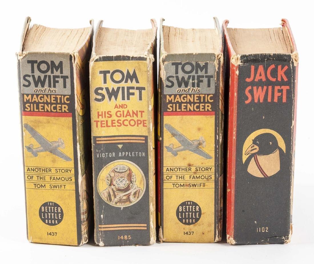 1 Jack Swift & 3 Tom Swift Big Little Books - 2