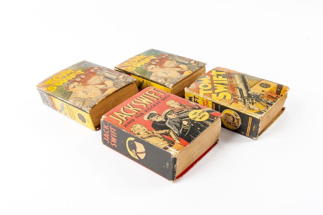1 Jack Swift & 3 Tom Swift Big Little Books - 3