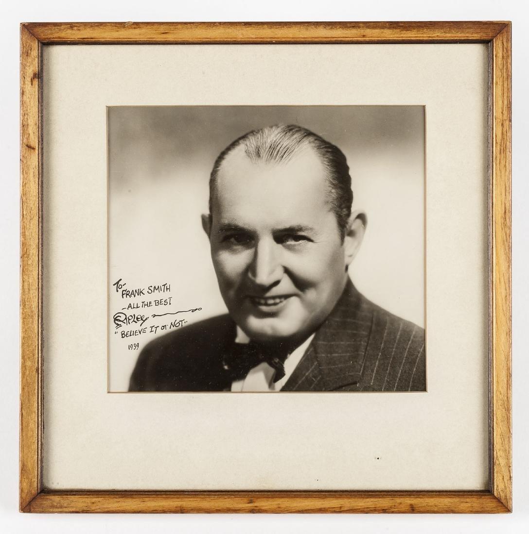 Robert Ripley Signed Photograph - 2