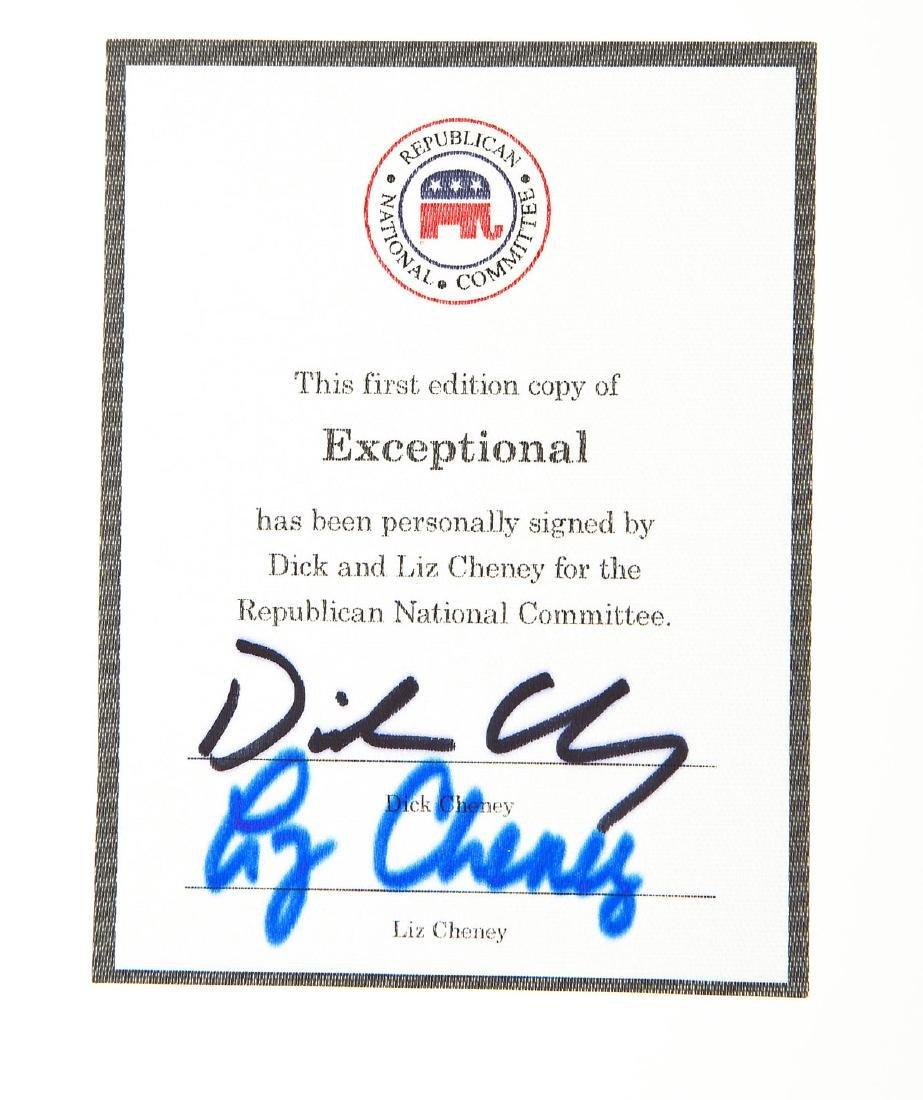 3 President George Bush & Cheney Signed Books - 4