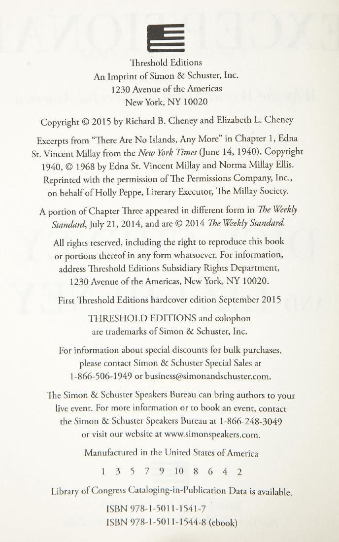 3 President George Bush & Cheney Signed Books - 6