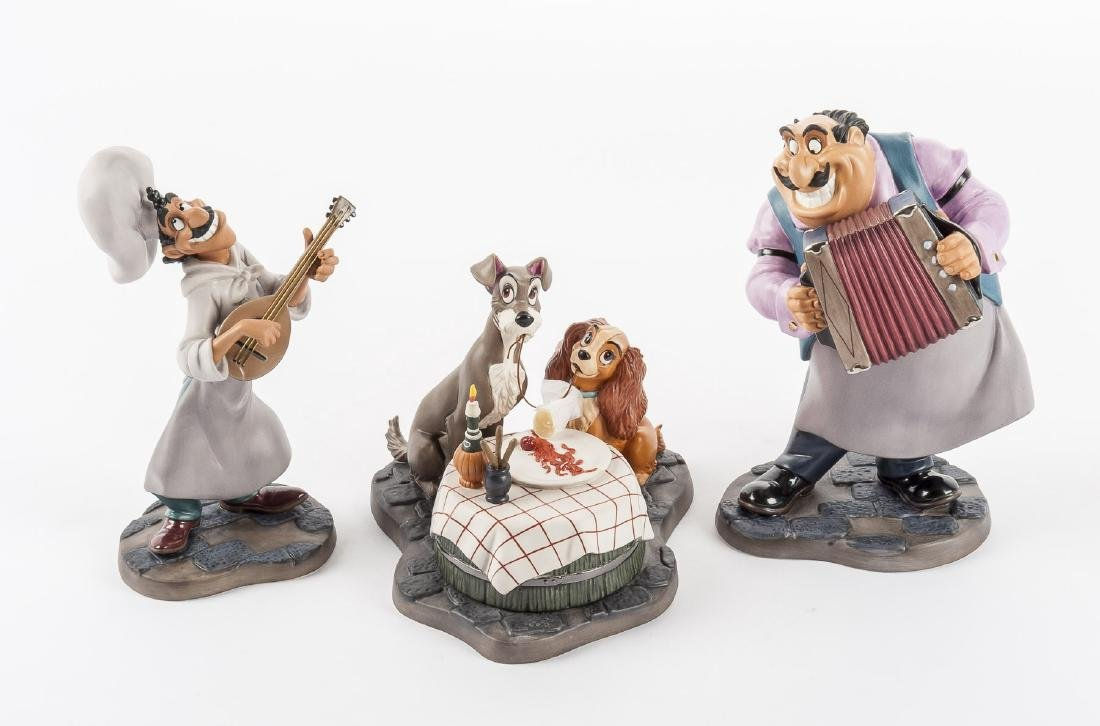 "Disney Lady & the Tramp ""Bella Notte"" Set in OB"