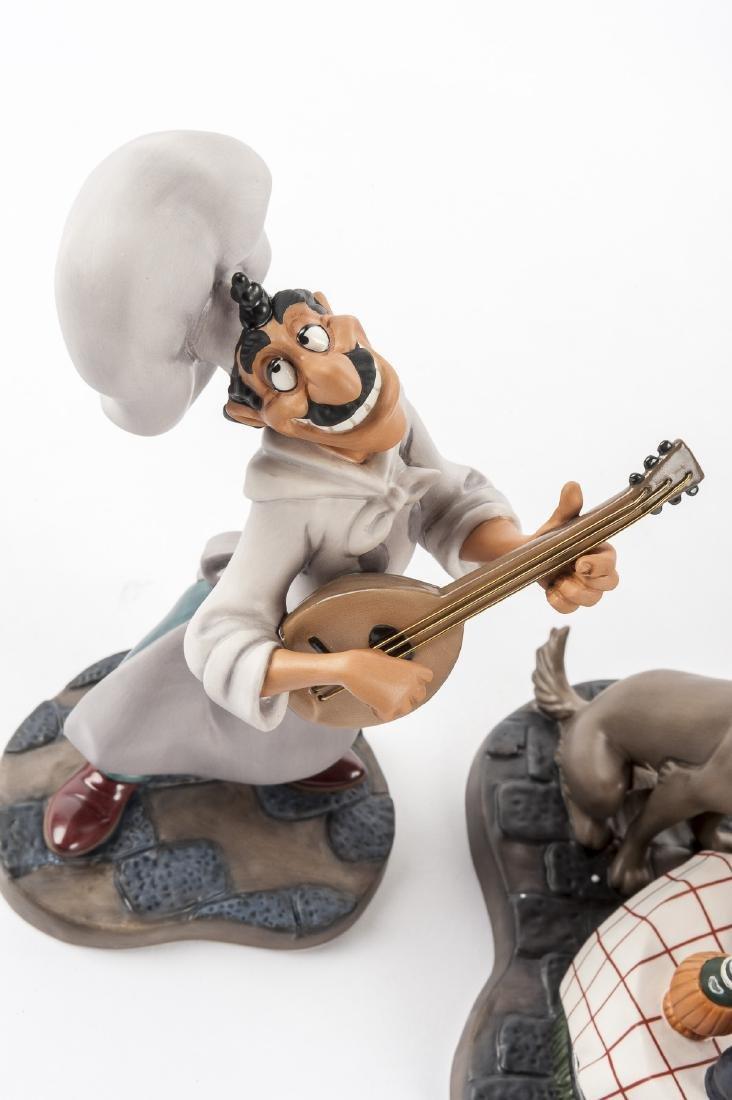 "Disney Lady & the Tramp ""Bella Notte"" Set in OB - 5"