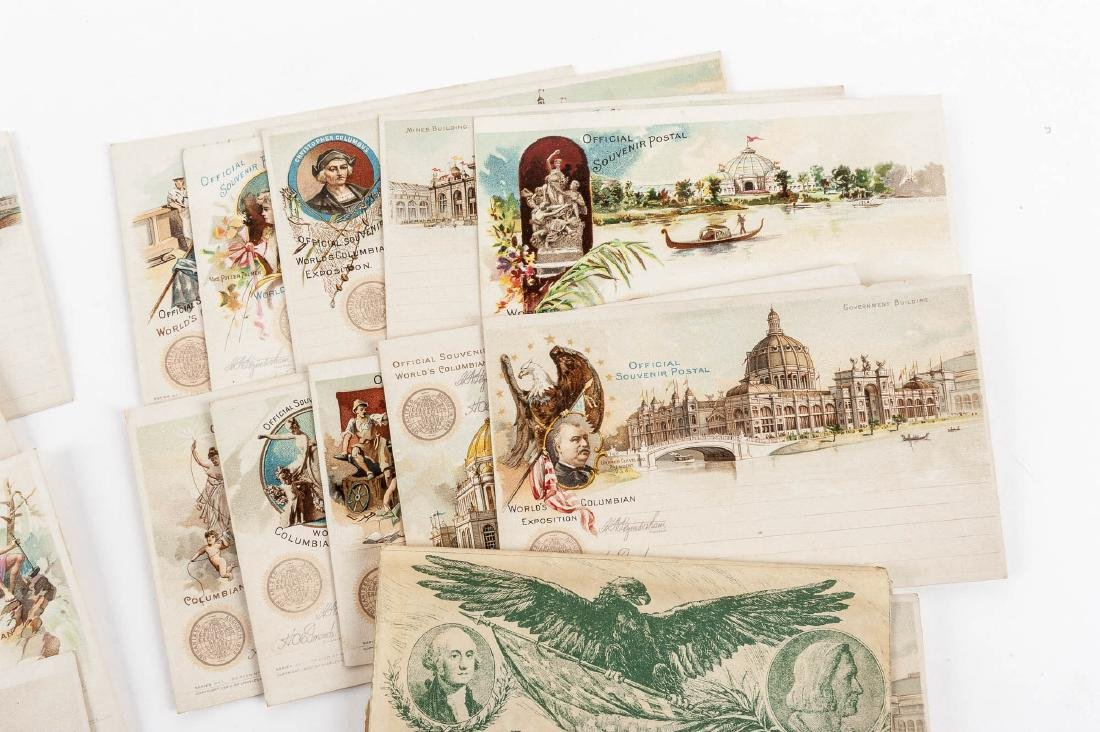 4 Sets of Goldsmith Columbian Expo Postcards - 5