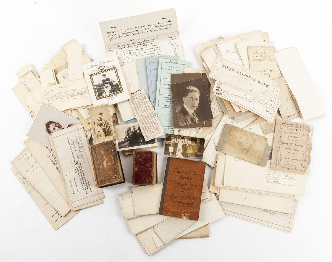 Archive of the Beattie Family of Cumberland County