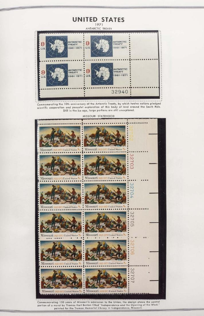3 H.E. Harris Albums of US Mint Plate Blocks - 3
