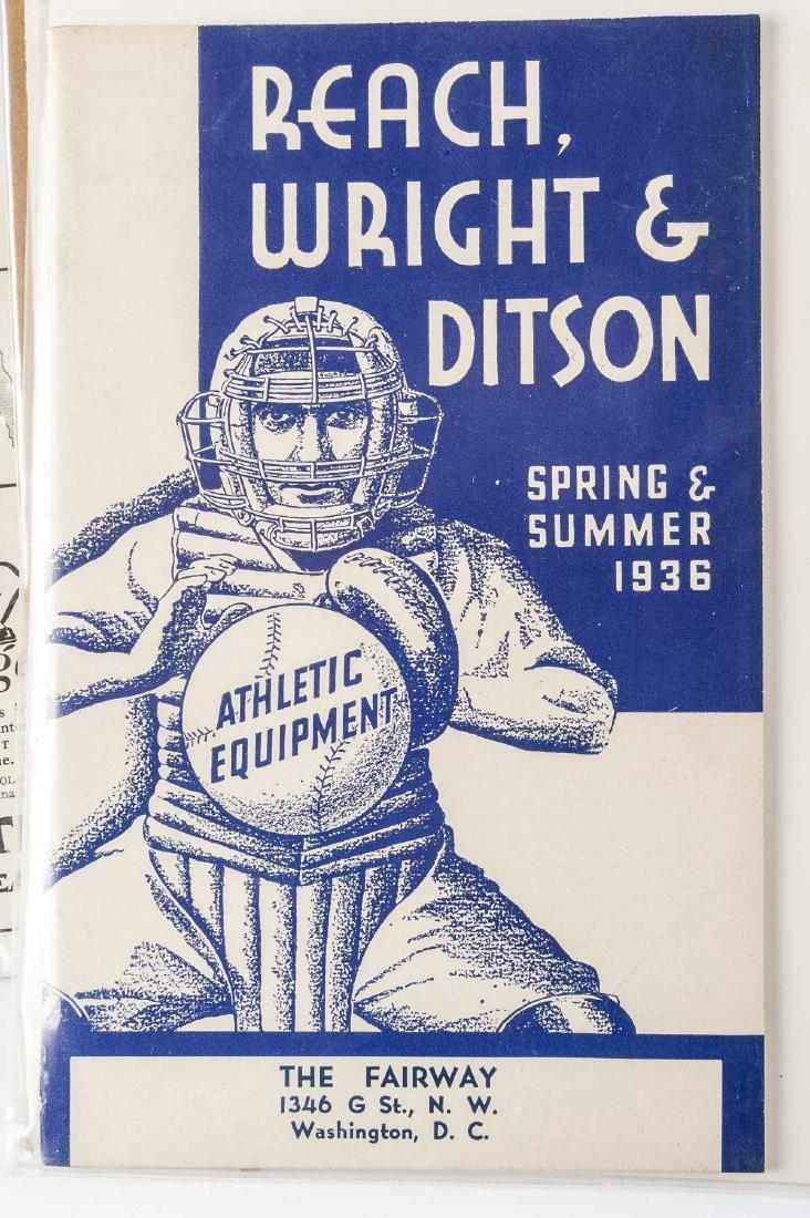 Vintage Baseball Advertisements incl D & M - 3