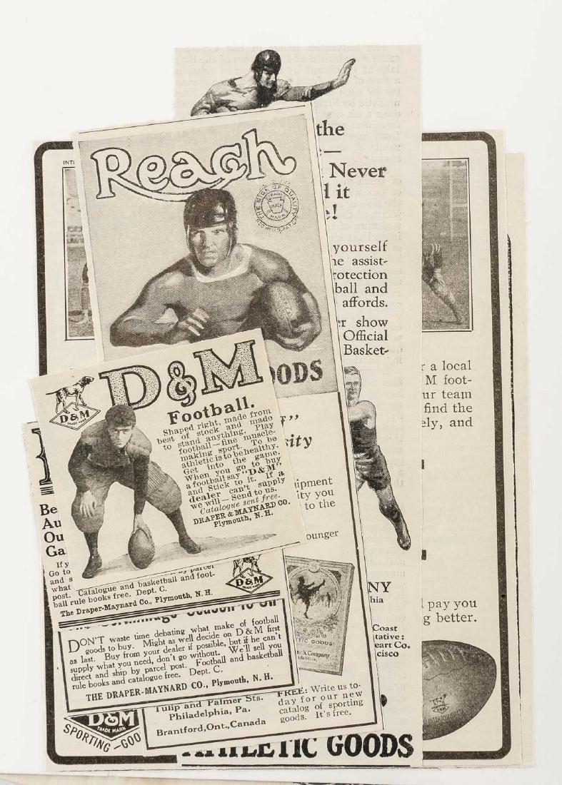 Vintage Baseball Advertisements incl D & M - 4