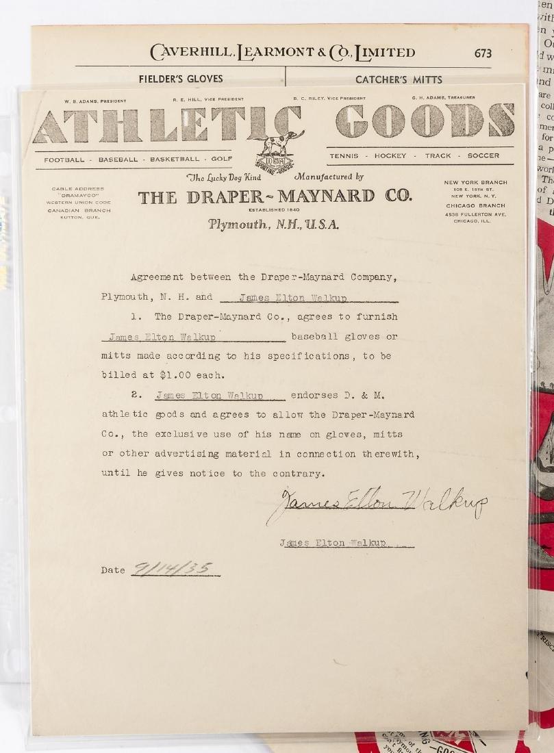 Vintage Baseball Advertisements incl D & M - 6
