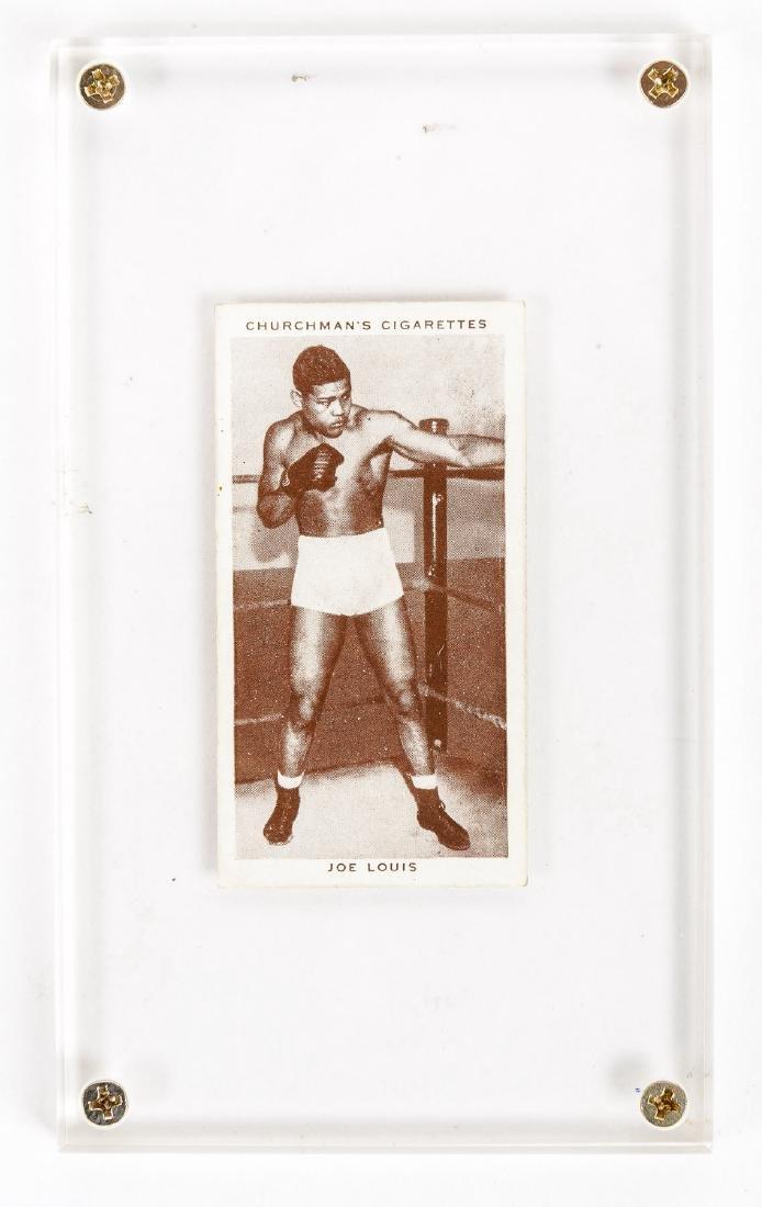 1938 Churchman's Cigarettes Joe Louis #26