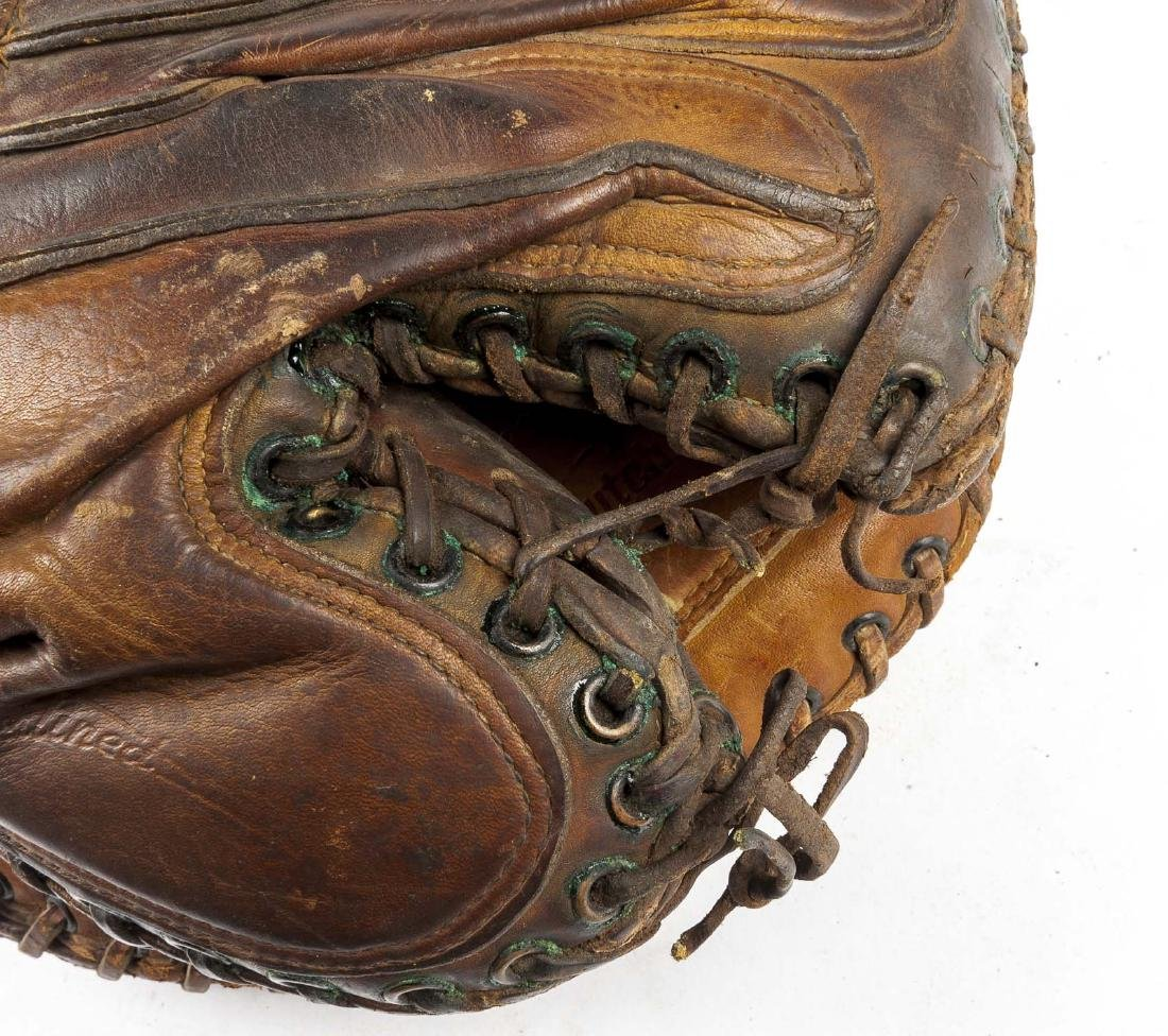 2 1930's Catcher's Mitts incl Mickey Owen - 3