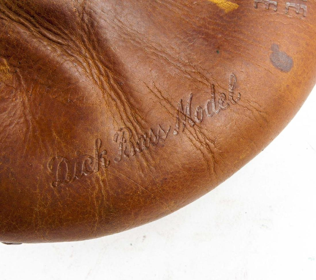 2 1930's Catcher's Mitts incl Mickey Owen - 5