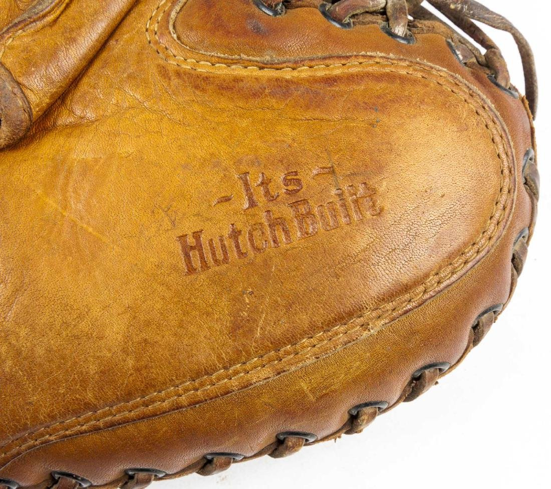 2 1930's Catcher's Mitts incl Mickey Owen - 6