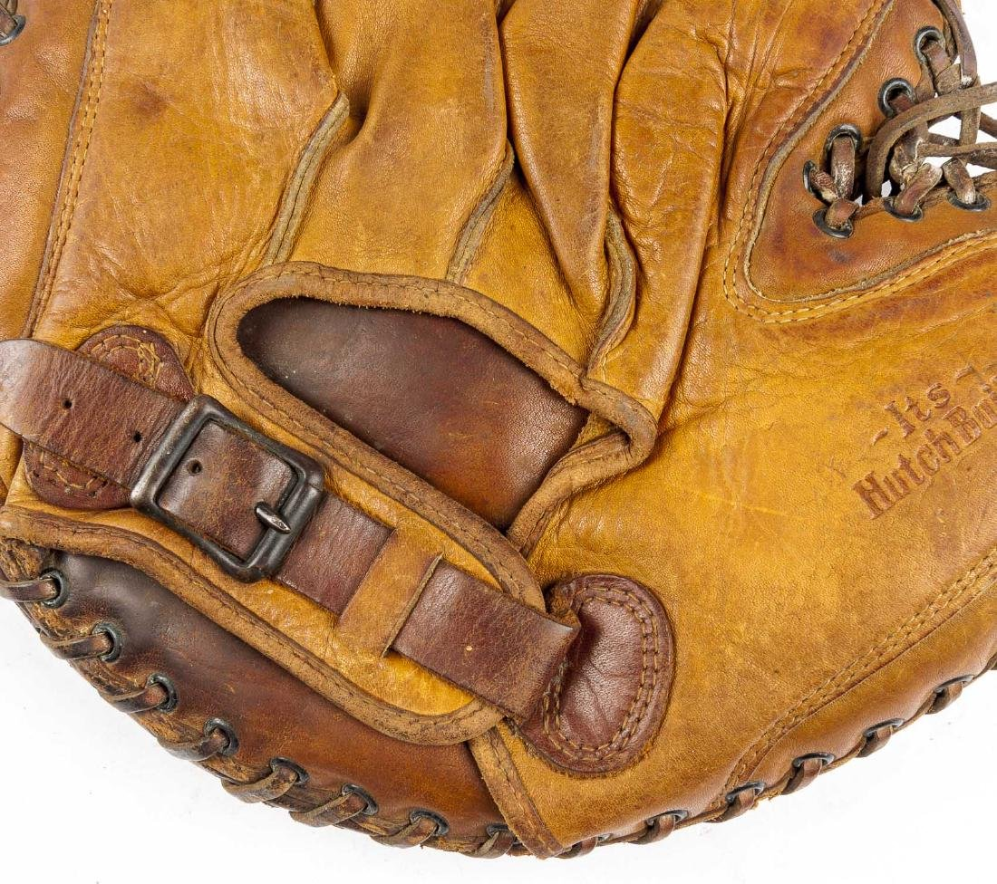 2 1930's Catcher's Mitts incl Mickey Owen - 7