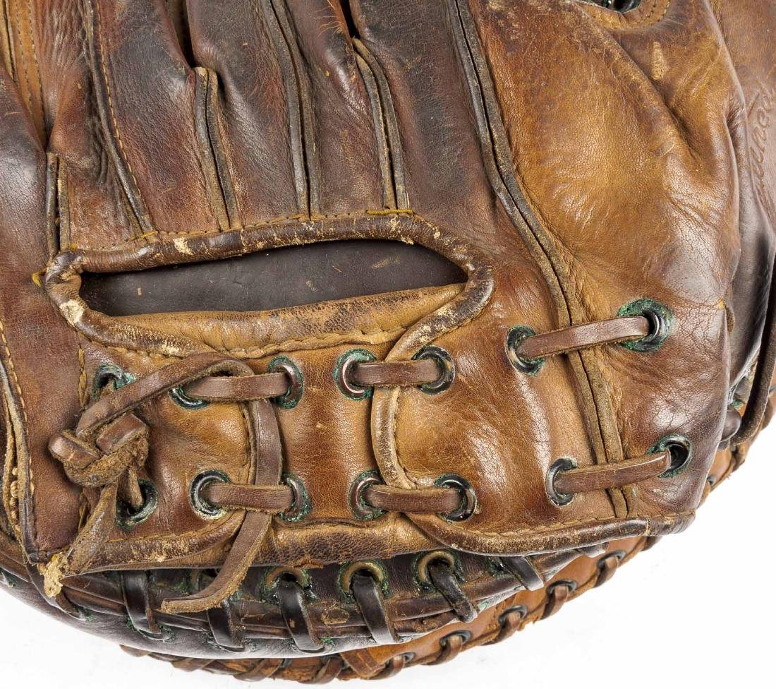 2 1930's Catcher's Mitts incl Mickey Owen - 8