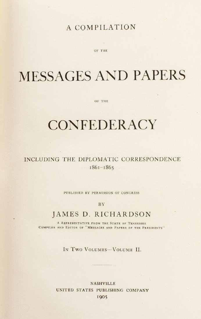 Messages and Papers of the Confederacy - 2