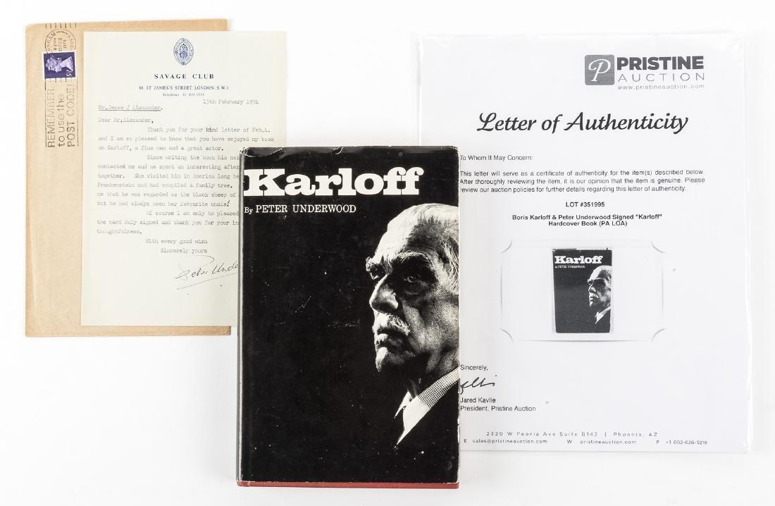 Boris Karloff Biography & Karloff Autograph