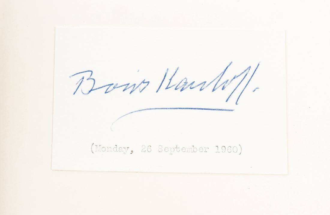 Boris Karloff Biography & Karloff Autograph - 2