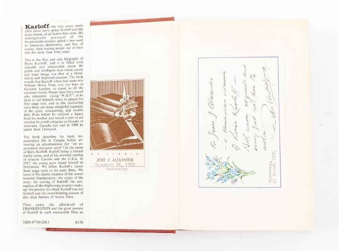 Boris Karloff Biography & Karloff Autograph - 5