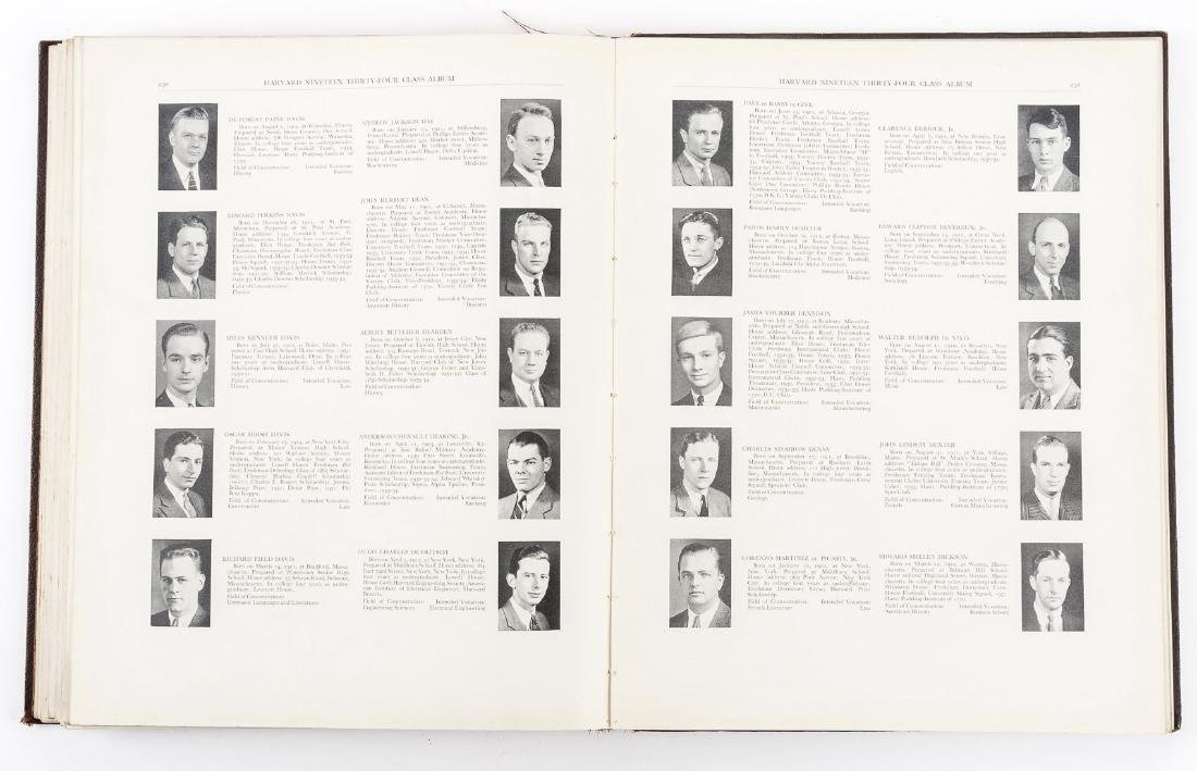 Harvard 1934 Class Album & Advocate Medal - 10