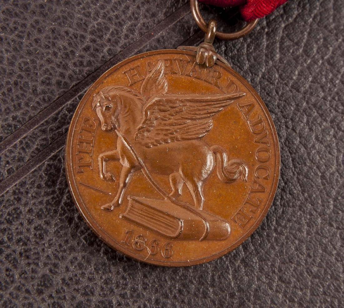 Harvard 1934 Class Album & Advocate Medal - 4