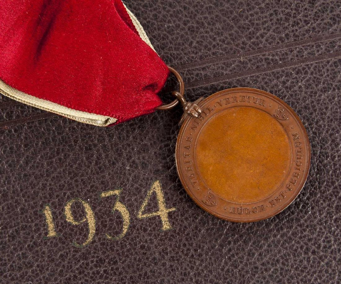 Harvard 1934 Class Album & Advocate Medal - 6