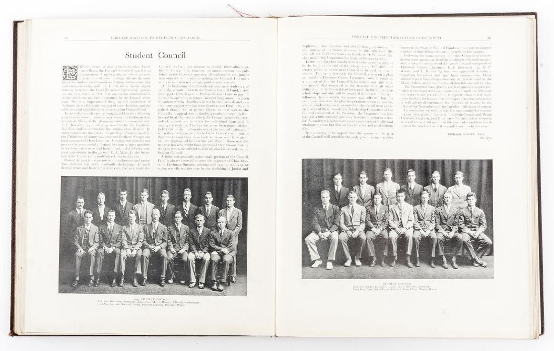 Harvard 1934 Class Album & Advocate Medal - 8
