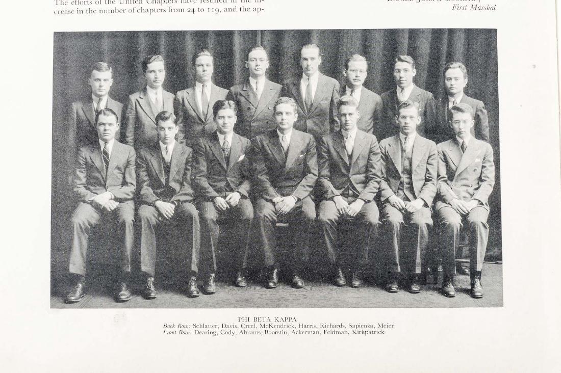 Harvard 1934 Class Album & Advocate Medal - 9