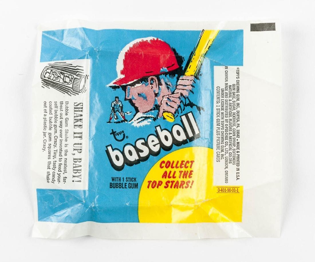 1970-1971 Topps Baseball Wrappers - 3