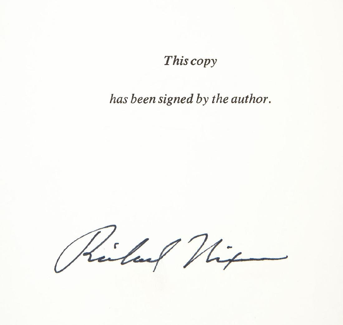 Signed President Nixon & Henry Kissinger Books - 3