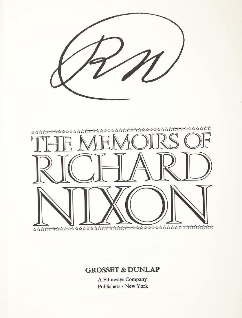 Signed President Nixon & Henry Kissinger Books - 4