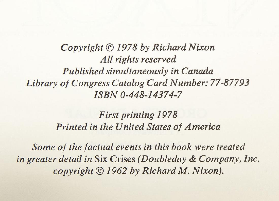 Signed President Nixon & Henry Kissinger Books - 5