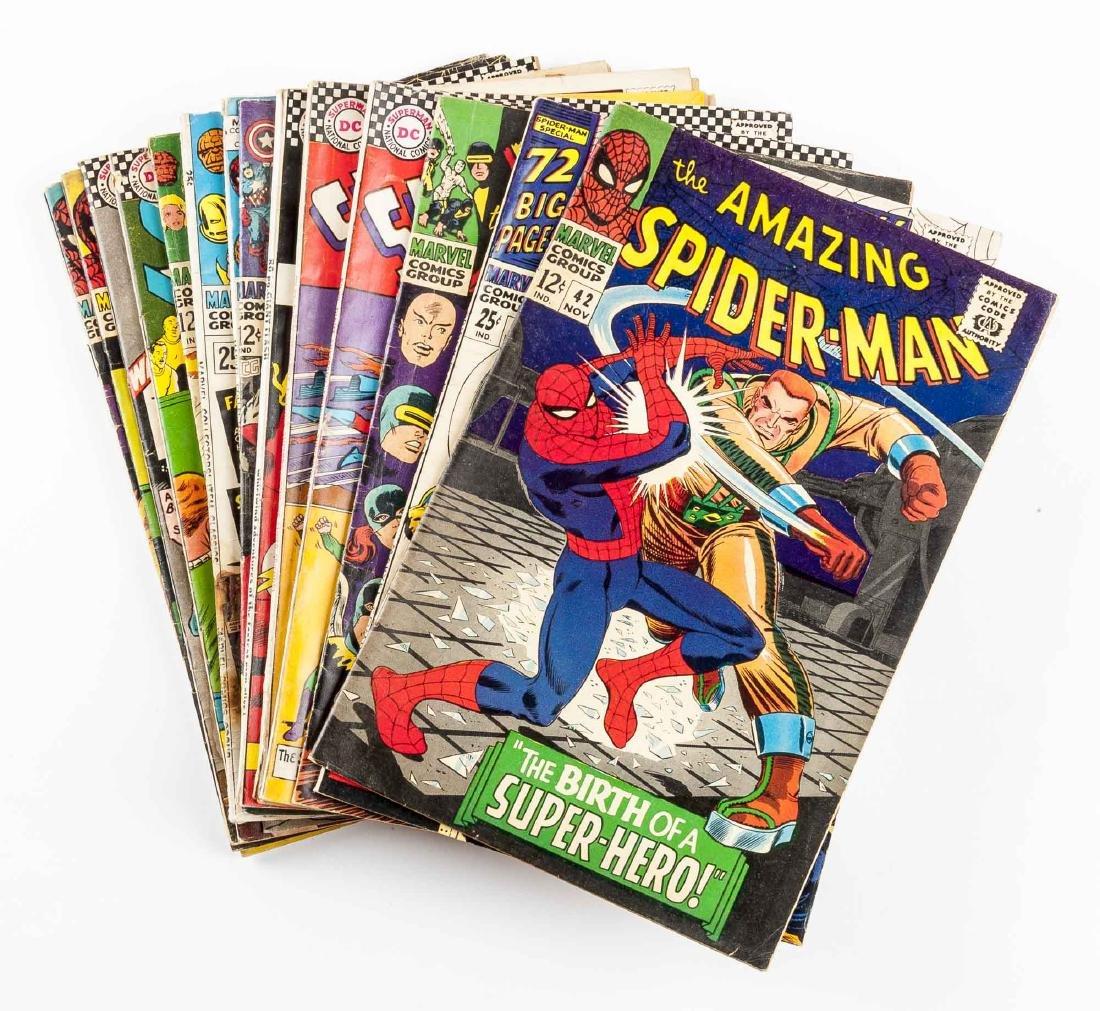 15 DC Comic Books incl Superman & The Flash